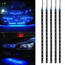 5x 30cm 3528SMD 15LED Bande Eclairage Ruban Flexible Bleu Auto Etanche Voiture