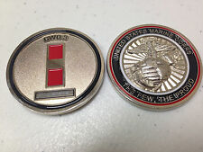 UNITED STATES MARINE CORPS THE FEW, THE PROUD CWO-3 CHALLENGE COIN NEW