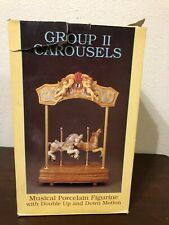 Willits Design Group Ii Carousel Double Horse Tune Tales From The Vienna Woods