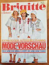 Zeitschrift BRIGITTE Heft Nr. 3 1976 mit CONSTANZE Frauenzeitschrift