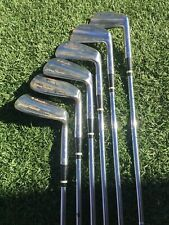 RH MacGregor Jimmy Demaret Pacemaker Irons 3 - 9 (missing 5 iron) original shaft