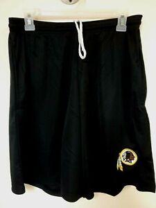 0724 BOYS NFL WASHINGTON REDSKINS Polyester Jersey SHORTS Embroidered W/Pockets