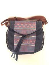 The Sak Silverlake Tribal Woven Leather Design Cross-body Shoulder Bag Purse