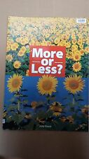 More Or Less By Judy Nayer (Children's Extra Large Paperback)