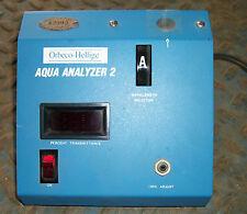 AQUA ANALYZER 2 ORBECO - HELLIGE 952-03 W/ OPERATION HADNBOOK