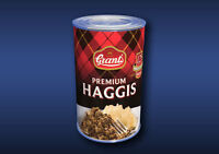 1:12 Scale Haggis Tin Dolls House Miniature Food Cans