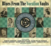BLUES FROM THE VOCALION VAULTS - 2 CD BOX SET - ROBERT JOHNSON & MORE