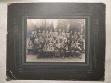 Troppau - Lehrerin & Schulklasse - Schule - Mädchen-Klasse / großes Foto