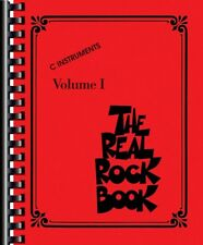 The Real Rock Book Sheet Music C Instruments Real Book Fake Book NEW 000240313