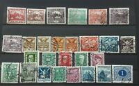 Czechoslovakia 1918-1937 collection of early stamps