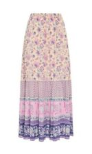 SPELL & THE GYPSY Portobello Road Maxi Skirt in Lavender, Size M BNWT! SOLD OUT