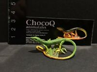 Kaiyodo Animatales Choco Q Series 9 Green grass lizard B Figure