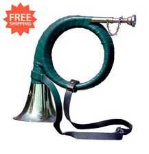 Jagdhorn Fürst Pless Horn in Bb Brass Mouthpiece Free Shipping