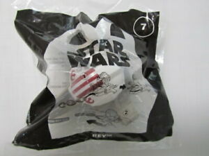 #7 Star Wars REY x-wing disk shooter McDonald's 2021 Happy Meal Toy