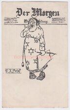 More details for judaica austria wiener judenpresse jewish stereotype der morgen seidel pc - j323