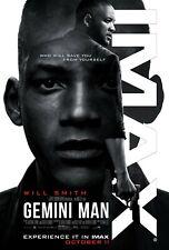 Gemini Man Movie Poster (24x36) - Will Smith, Mary Winstead, Clive Owen v2