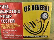 U S General Fuel Injection Pump Tester model 92699 New