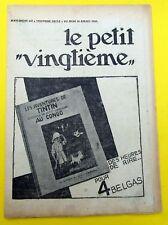 TINTIN HERGE PETIT VINGTIEME 1931 NO 31 BE