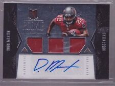 2012 Momentum Doug Martin Auto Rookie Premiere Game Used Jersey Rc Srl # to 399