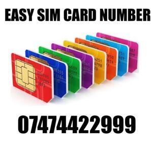 GOLD EASY VIP MEMORABLE MOBILE PHONE NUMBER DIAMOND PLATINUM SIMCARD 4422999