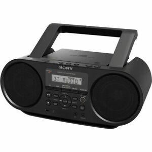 SONY-ZSRS60BT-MEGA-BASS-CD-PLAYER-BOOMBOX-AM-FM-RADIO-BLUETOOTH-USB
