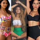 Women Sexy Retro High Waist Push up Bikini set Swimwear Beach Bathing Swimsuit
