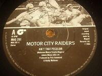 "MOTOR CITY RAIDERS - AIN'T THAT PECULIAR    7"" VINYL"