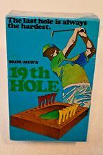 19th Hole Golf Dice Game Vintage 100% Complete Bar Game Man Cave
