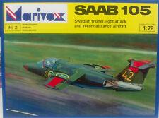 Saab 105, 1:72, Marivox, Plastik, Schweden, Österreich, NEU