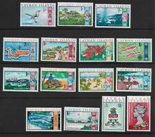 CAYMAN ISLANDS  , 1969 , SET OF 15 STAMPS , PERF , MNH