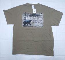 Colorado Rocky Mountain 1876 Souvenir T Shirt tour Beige Size XL Extra Large Z4