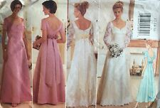 VINTAGE 1996 'BUTTERICK' WEDDING/FORMAL DRESS PATTERN 4772 - SIZE 12-16