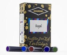 Diamine Fountain Pen Ink Cartridges Pack of 20 - Regal