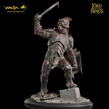 WETA Lord Of The Rings Uruk-Hai Swordsman Statue Figure SEALED NEW