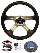 "1968 1969 Charger steering wheel MOPAR 4 SPOKE 14"" Grant steering wheel"