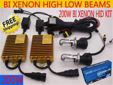 200W HID BI-XENON Conversion Xenon Kit Light Bulb H4 H13  9007 HI/LO beams White
