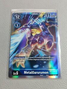 MetalGarurumon   NM/M   BT1-044 SR   Digimon Card Game