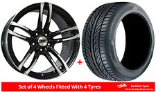 """Alloy Wheels & Tyres Wider Rears 18"""" DRC DMF BMW M3 [E36]"""