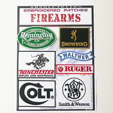 FIREARM GUN MAKERS Patches - Iron-On Patch Mega Set #59 - FREE POST