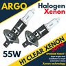 H1 HALOGEN 55W BULBS MAIN BEAM 12V HEADLIGHT HEADLAMP CLEAR LIGHT STANDARD X 2