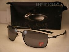 Oakley Square Wire Carbon w Grey Polar Lens NEW Sunglasses (oo4075-04)