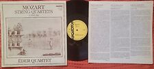 MOZART - Quartets Nos. 21 & 22 EDER QUARTET Hungaroton LP NM