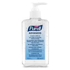 4 x PURELL Advanced Hand Sanitizer Alcohol Hand Rub Gel 300ml
