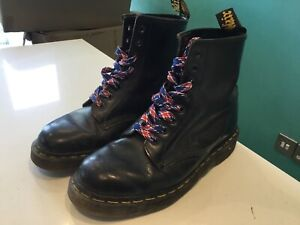 Dr martens Womens Black Leather Boots Size 6