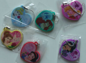 Disney Princess Mini Mirror Charms set of 6