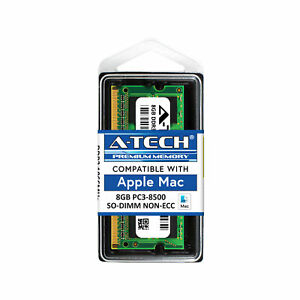 8GB SODIMM Memory RAM for APPLE MACBOOK PRO Mid 2010 A1278 MC374LL/A MC375LL/A