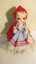 "Vintage Bradley Little Red Riding Hood  13"" Doll 1977 SD436"