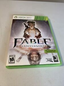 Fable Anniversary (Microsoft Xbox 360, 2014) No Manual, Tested And Working!