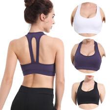 Yoga-Vest Sports Bras Seamless Fitness Running Women Gym Bra Stretch Workout Top