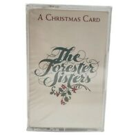 The Forester Sisters A Christmas Card Cassette Tape Country Music